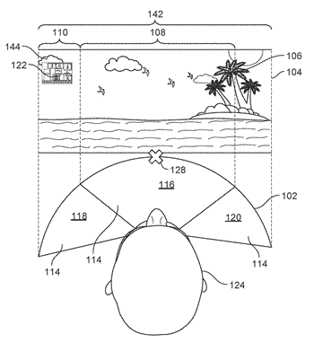 Methods and systems for displaying additional content on a heads up display displaying a virtual ...
