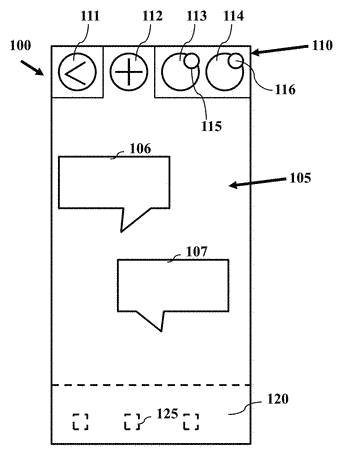 Device and methods for messaging application control and presentation