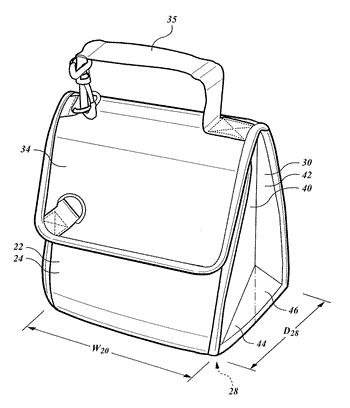 Insulated container with thermal storage liner