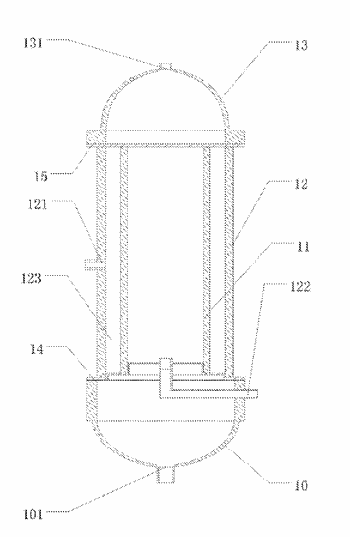 Water purification device, and method using water purification device to filter water