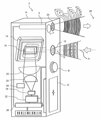 Multifunctional rangefinder with at least two modes of operation