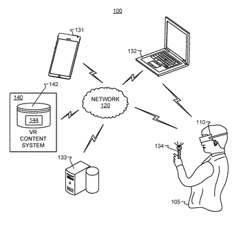 Eye tracking systems and methods for virtual reality environments