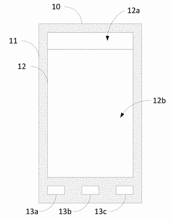 Portable electronic device and method for displaying data thereon