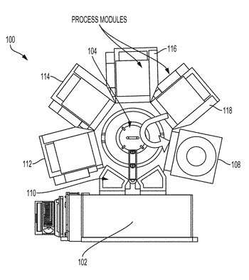 Automated replacement of consumable parts using interfacing chambers