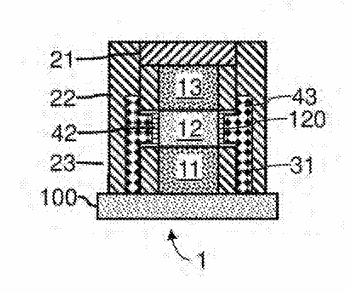 Method of fabricating a transistor with nano-layers having a vertical channel
