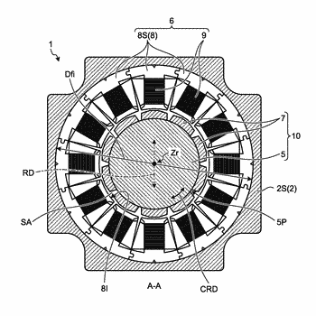 Stator core for rotating electrical machine, rotating electrical machine, and method of manufacturing rotating electrical ...