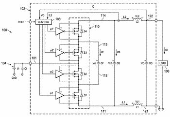 Multilevel boost dc to dc converter circuit