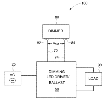 Dimmer with photo sensor and high/low clamping