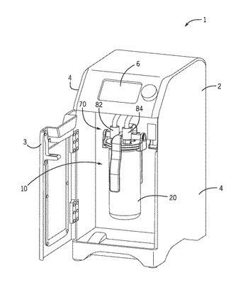 Gas infusing devices and gas manifolds for batch beverage machines