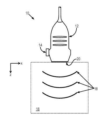 Method for ultrasound elastography through continuous vibration of an ultrasound transducer