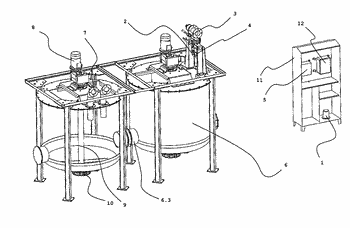 System for analysis and reuse of waste liquids
