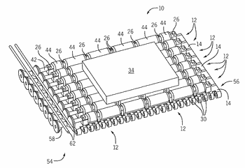 Operation of an active control roller top conveying assembly