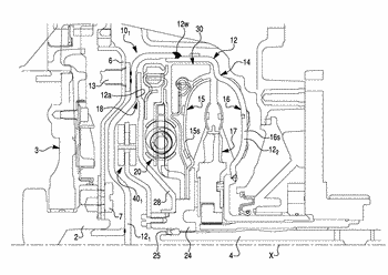 Hydrokinetic torque coupling device with torsional vibration damper in combination with two vibration absorbers