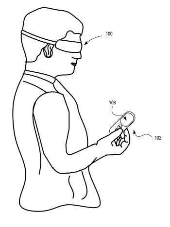Virtual/augmented reality input device