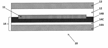 Pv module with film layer comprising micronized silica gel
