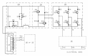 Integrated multi-mode large-scale electric power support system for an electrical grid