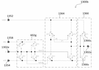 Circuit architecture for a measuring arrangement, a level shifter circuit, a charge pump stage and ...