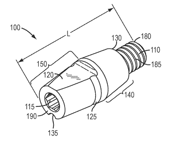 Components for use with implants and related methods