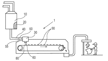 Apparatus and process for forming particles