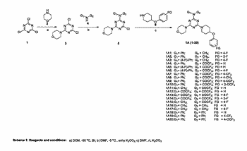 Novel 1,3,5 -triazine based pi3k inhibitors as anticancer agents and a process for the preparation ...