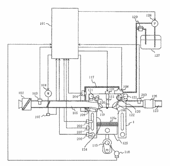 High-pressure fuel supply device for internal combustion engine