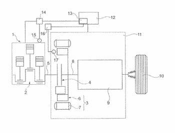Method for determining a bite point of a hybrid clutch in a hybrid vehicle