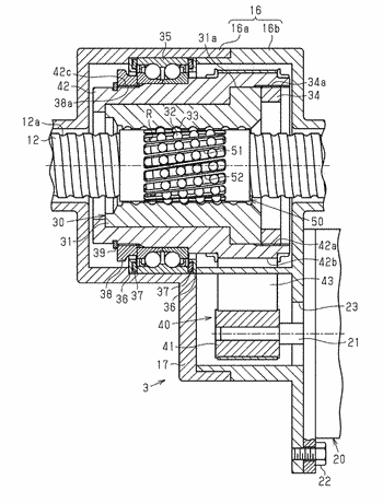 Ball screw device and steering system
