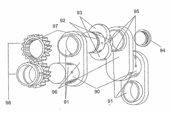 Orbitual crankshaft with extended constant volume combustion cycle