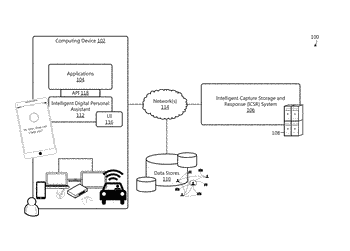 Intelligent capture, storage, and retrieval of information for task completion