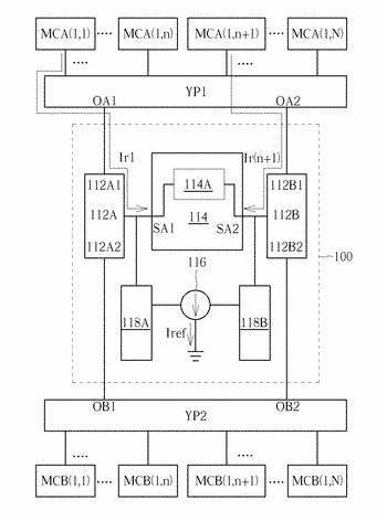 Memory system with low read power
