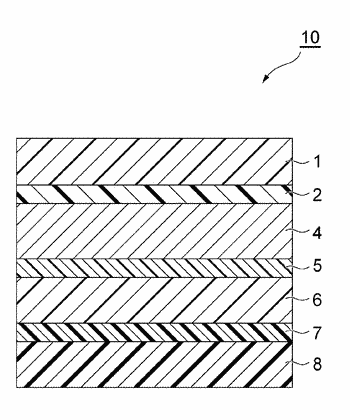 Secondary battery packaging material and secondary battery