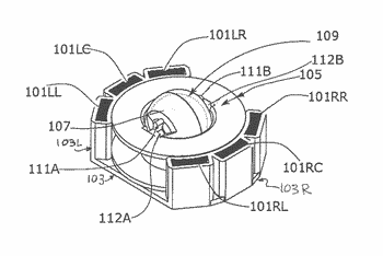 Tangentially actuated electrical generator