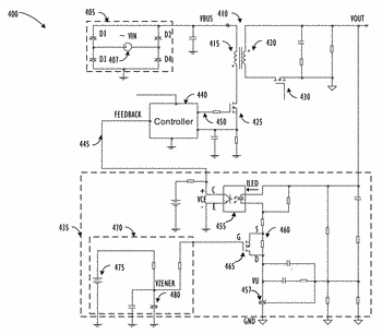 Gain adjustment circuit to enhance stability of multiple-output ac/dc converters