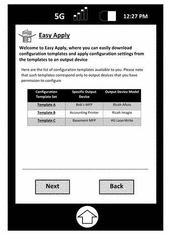 Configuring devices using device management templates