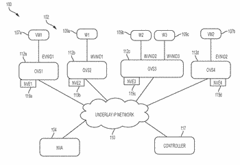 Mechanism for overlay virtual networking