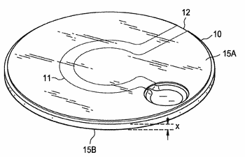 Rotatable disk-shaped fluid sample collection device