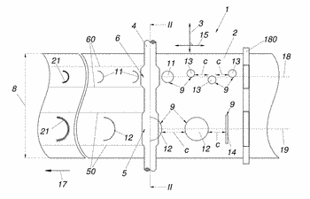 Method for producing a thickness-profiled metal strip