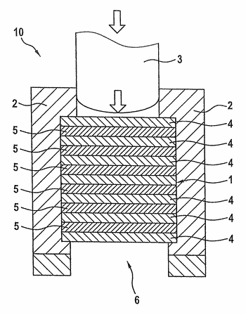 Method for producing a fibre composite moulded part, and a fibre composite moulded part