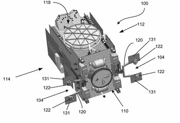 Thruster arrangement for geosynchronous orbit spacecraft