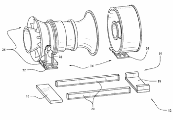 Convertible support structures for shipping large machinery