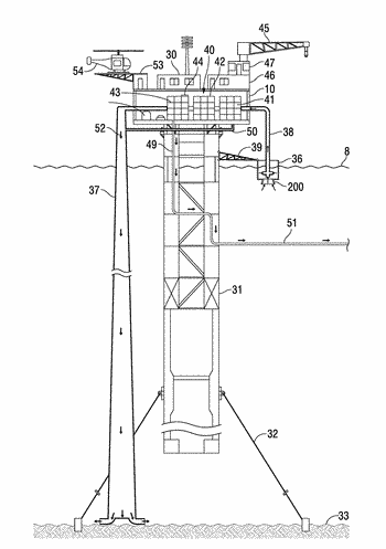 Apparatus, method and system for desalinating water