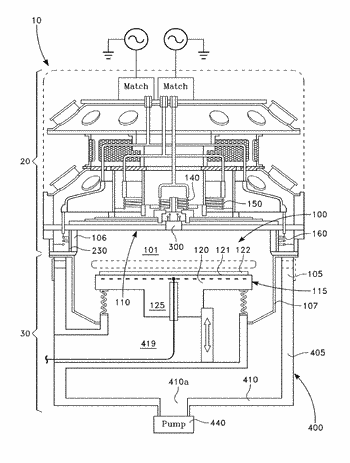 Inductively coupled plasma source with multiple dielectric windows and window supporting structure
