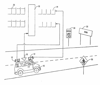 System and assessment of reflective objects along a roadway