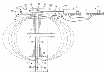 Computer processing of borehole to surface electromagnetic transmitter survey data