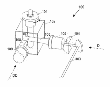 Microscope and method for generating 3d images of a collection of samples
