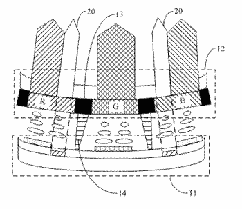 Curved display panel, method for fabricating the same, curved display device