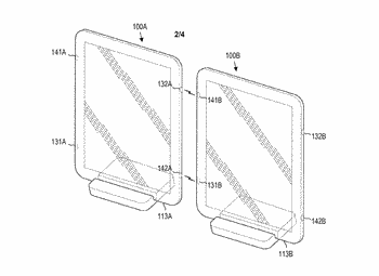 Waveguides in a computing device
