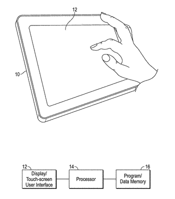 Systems and methods of editing a chemical structure on a touch-screen
