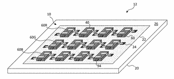 Micro-transfer-printed light-emitting diode device
