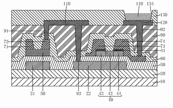 Manufacturing method of tft backplane and tft backplane